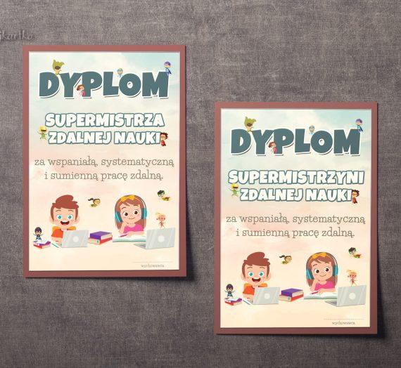 Dyplomy Supermistrzów Zdalnej Nauki